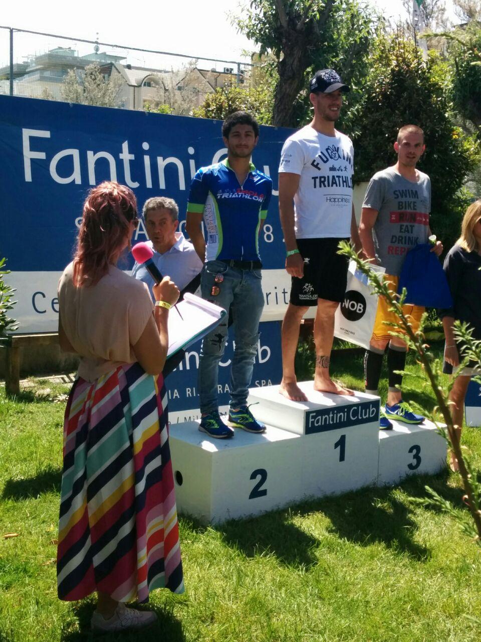 Cervia Galassi e Martelli da podio  Imola Triathlon