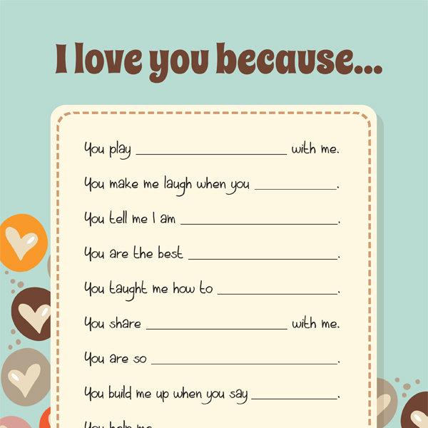 I Love You Because IMom