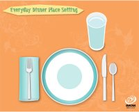 Everyday Table Place Setting Chart - iMom
