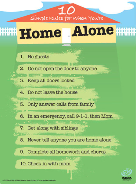 Home Alone Rules IMom