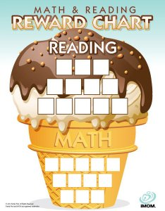 Download also math and reading reward chart imom rh