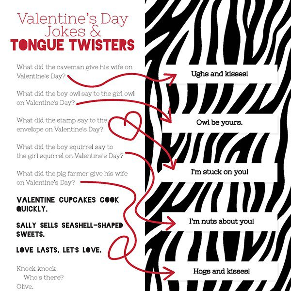 Valentines Day Jokes And Tongue Twisters IMom
