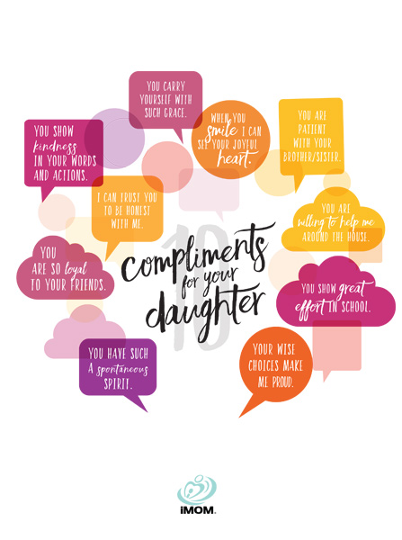 10 Compliments For Your Daughter IMom