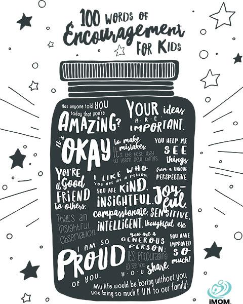 100 words of encouragement