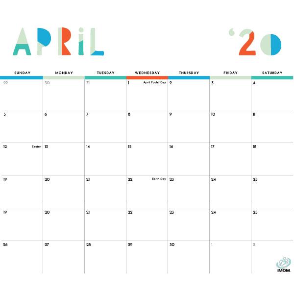 2020 Printable Calendars: 9 Free Printable Calendar