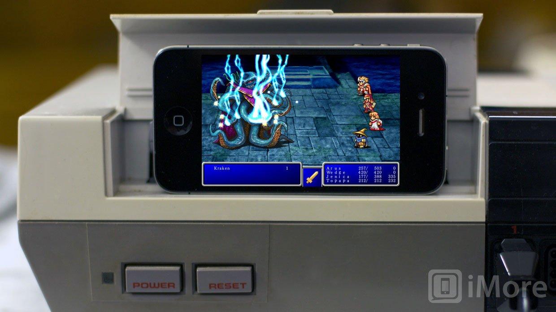 Final Fantasy For IOS Vs Final Fantasy For NES Retro