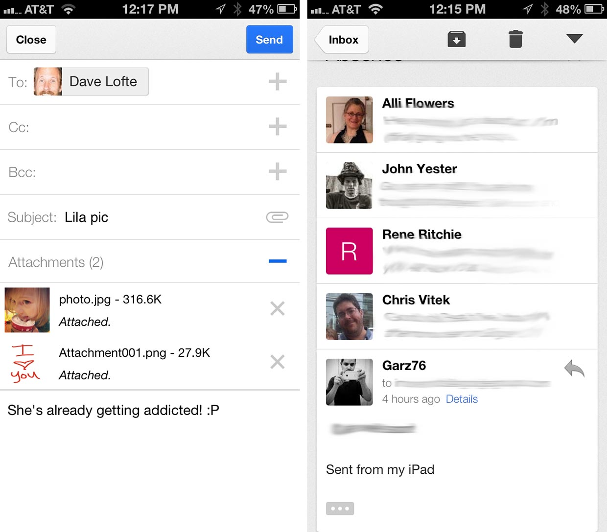 Gmail for iPhone and iPad gets redesigned, adds multiple