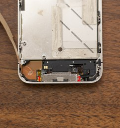 how to replace the dock connector in an iphone 4s imore rh imore com wiring a dock wiring a boat dock [ 1240 x 690 Pixel ]