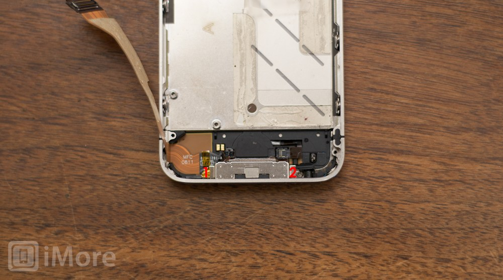 medium resolution of how to replace the dock connector in an iphone 4s imore rh imore com wiring a dock wiring a boat dock