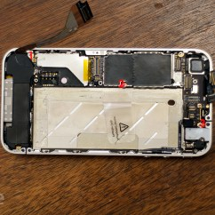 Back Of Iphone 4s Diagram Kenmore Washer Model 110 How To Fix The Front Facing Facetime Camera On 4 Imore Remove Logic Board