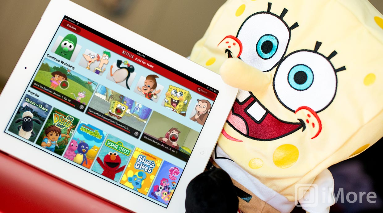 Netflix Just for Kids now available on iPad  iMore