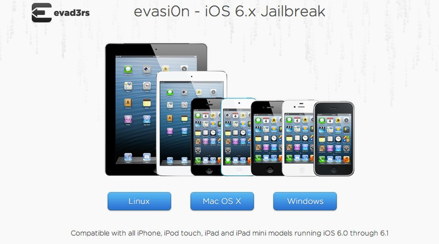 Evasi0n Jailbreak iOS 6.1 Free Download