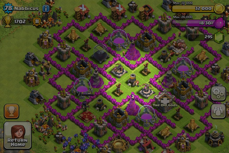 learn the lay of the land clash of clans sl