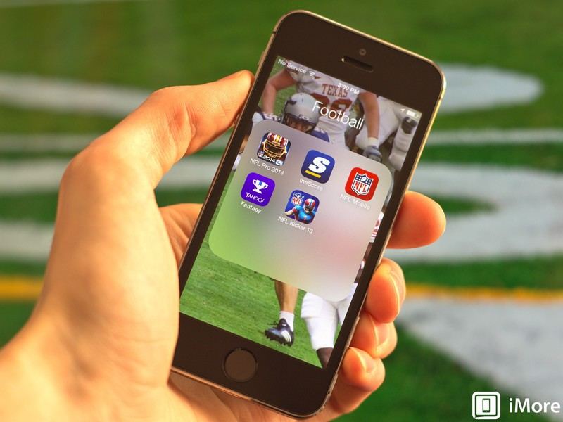 NFL apps for iOS