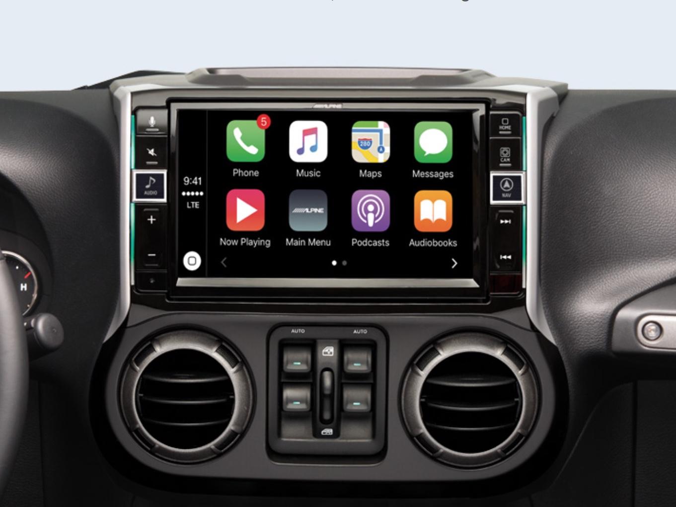 2013 Wrangler Fuse Box Alpine Introduces 9 Inch Carplay Unit For Newer Jeep