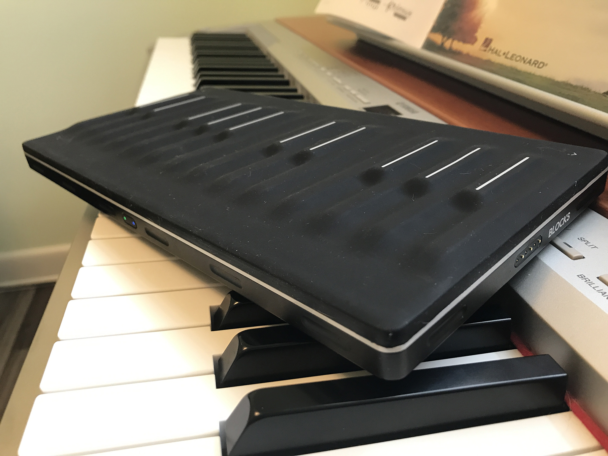 ROLI Seaboard Block review A full band in a squishy