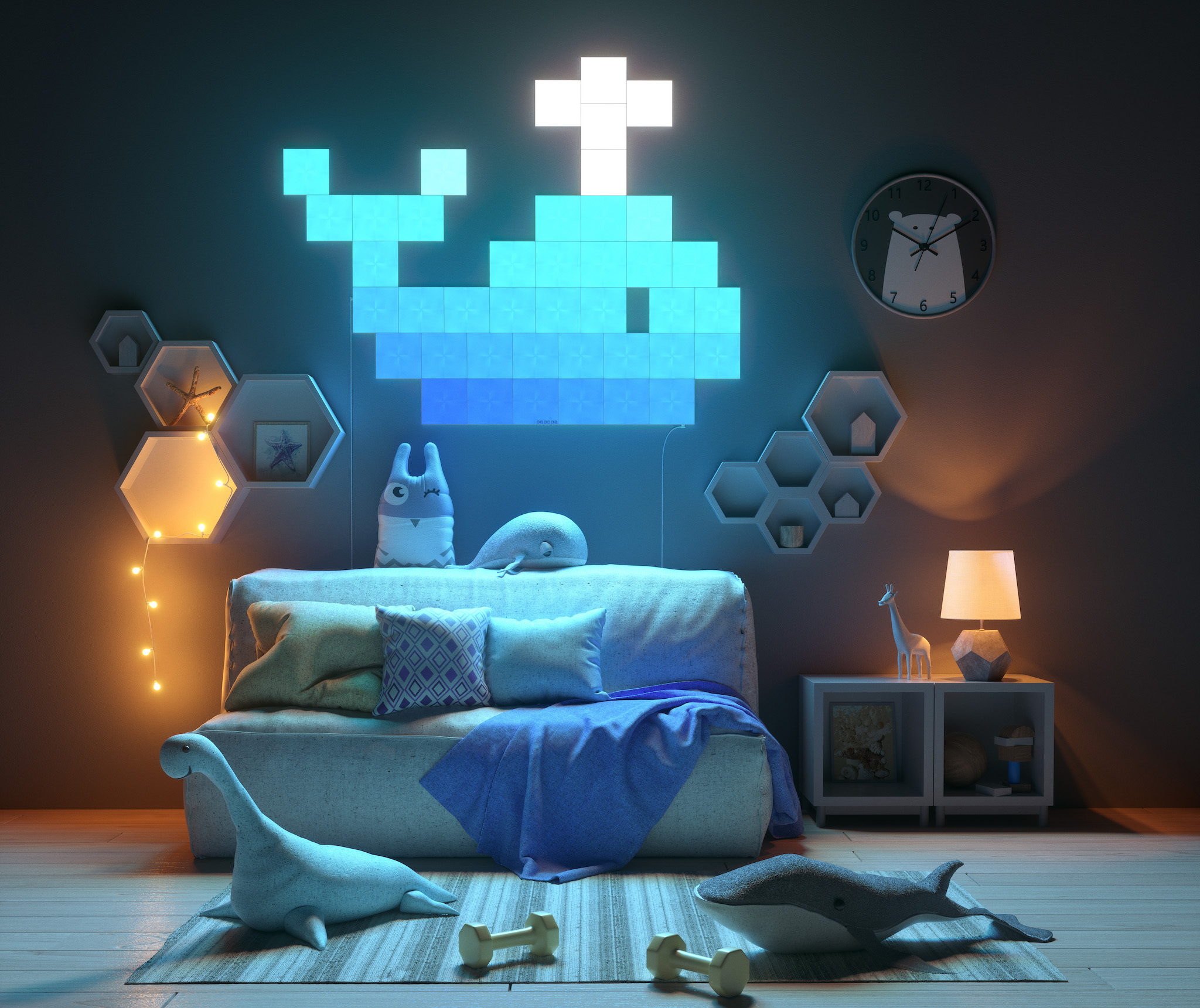 Nanoleaf Canvas review Futuristic art youre supposed to touch  iMore