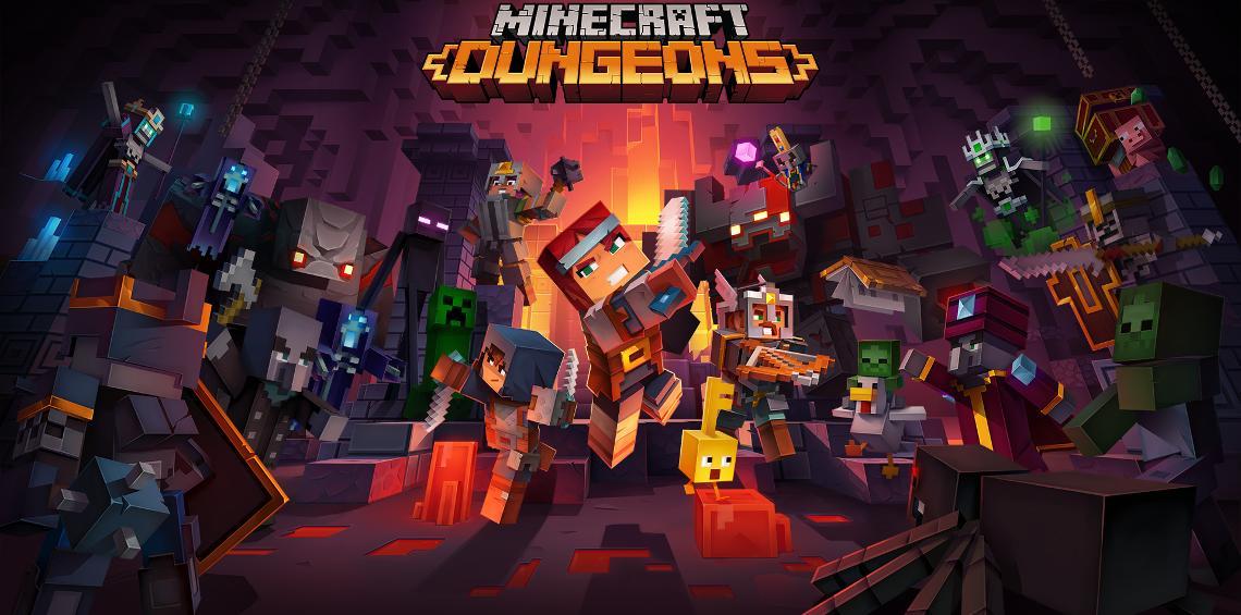 Minecraft Dungeons A Minecraft Action Adventure Game
