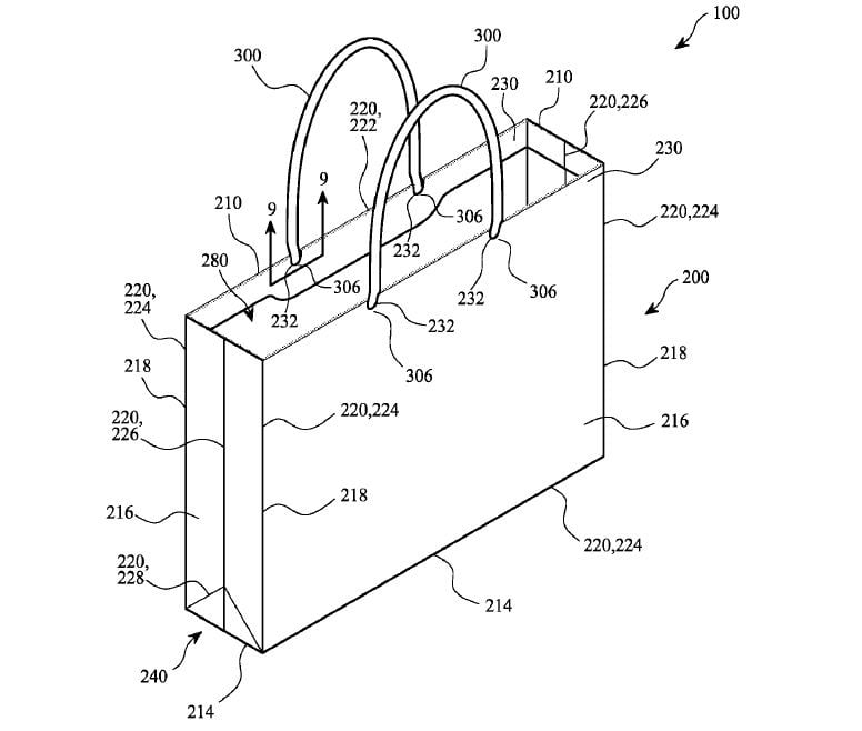 Flipboard: Apple even patents its carrier bags