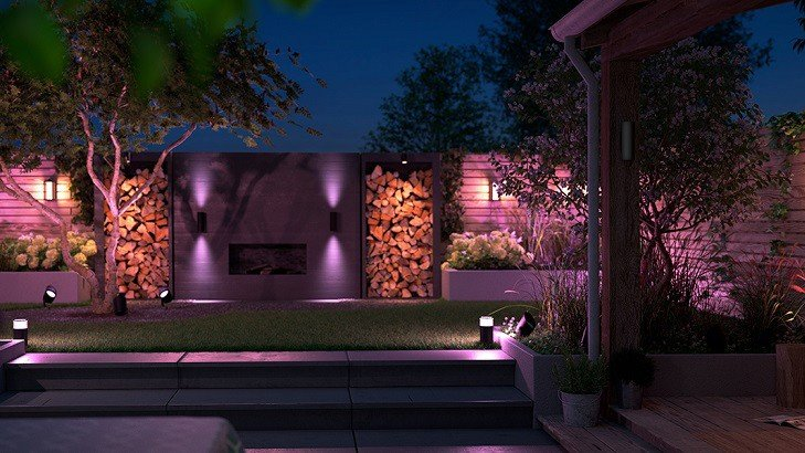 philips hue ces 2020 outdoor line and