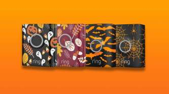 Ring gets into the Halloween spirit with new doorbell faceplates and chimes