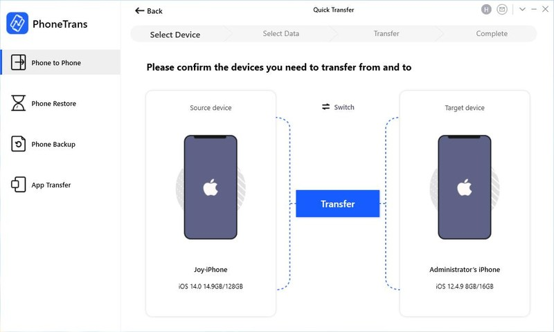 Phonetrans Screenshot