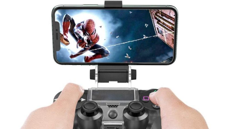 Ovio Ps4 Controller Iphone Mount Lifestyle