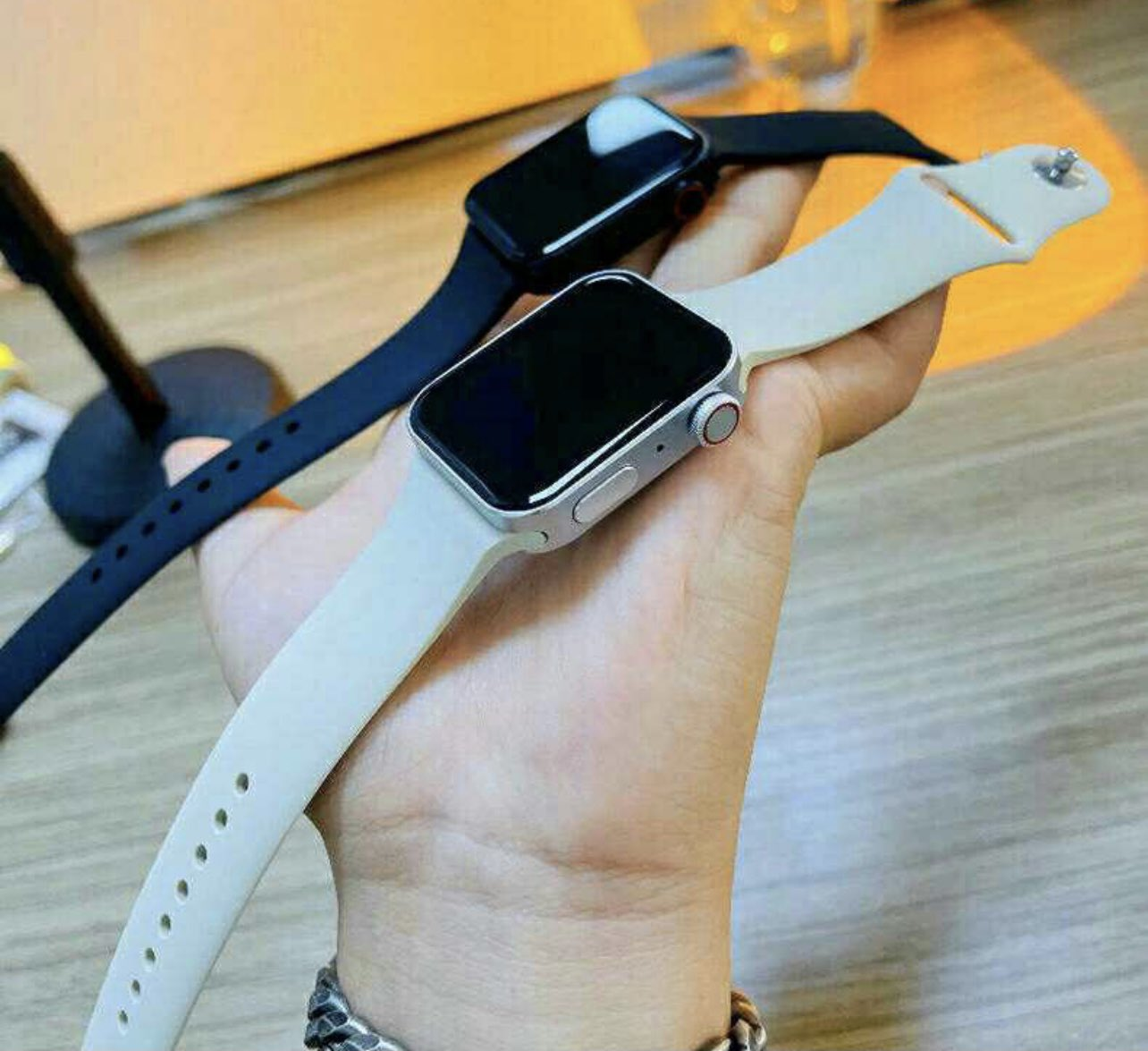First impressions of the apple watch series 6 have now been shared by select media outlets and youtubers, providing a closer look at the device's. Apple Watch Series 7 Clones Give Us A Glimpse Of A Stunning New Look Imore