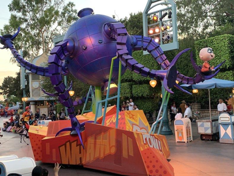 Disneyland Pixar parade