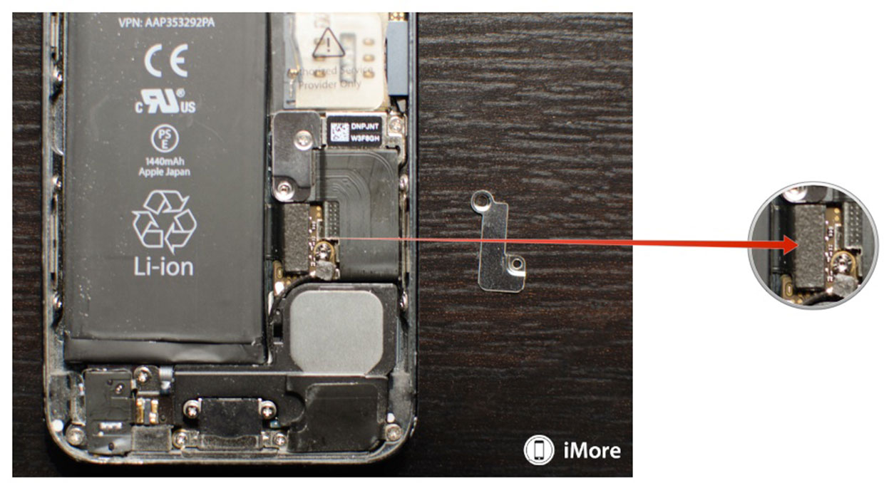 iphone broken battery connector iphone wiring diagram  [ 1200 x 656 Pixel ]