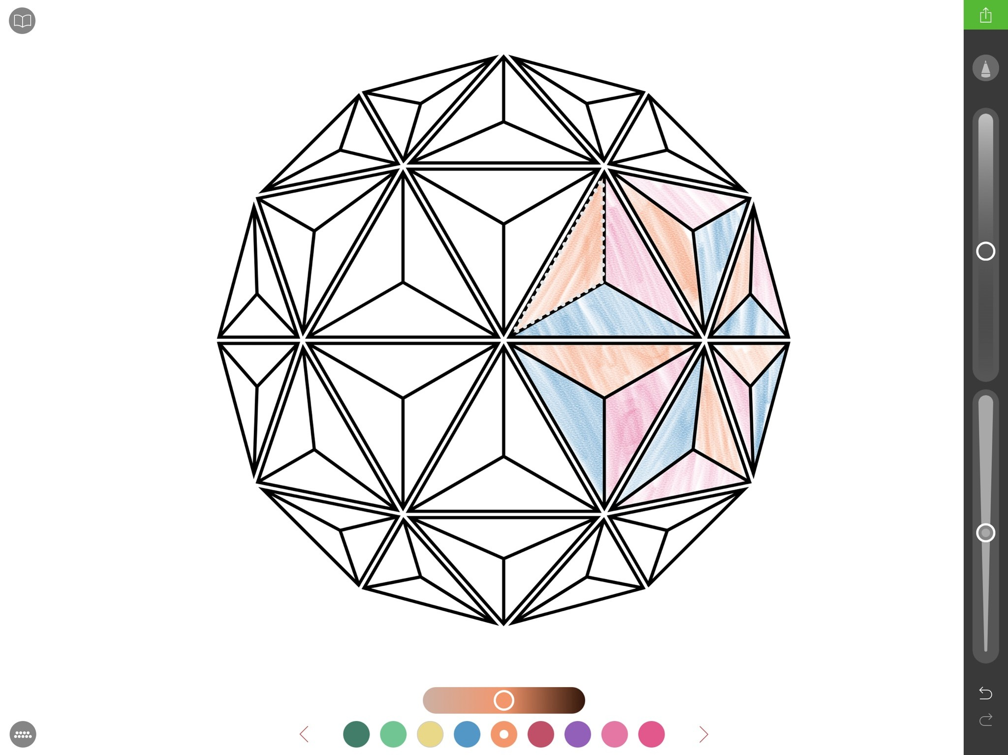 Coloring book for notability -  Pigment Adult Coloring Books