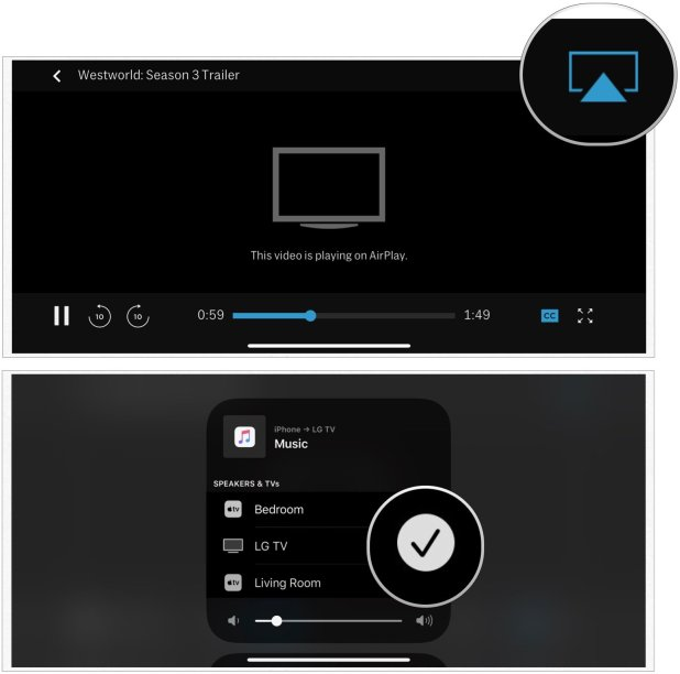 Airplay stop casting