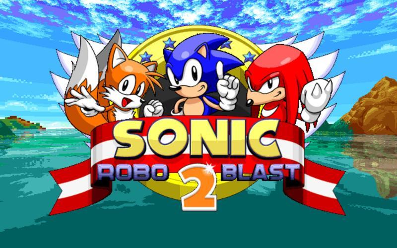 Sonic Robo Blast 2 Title Screen