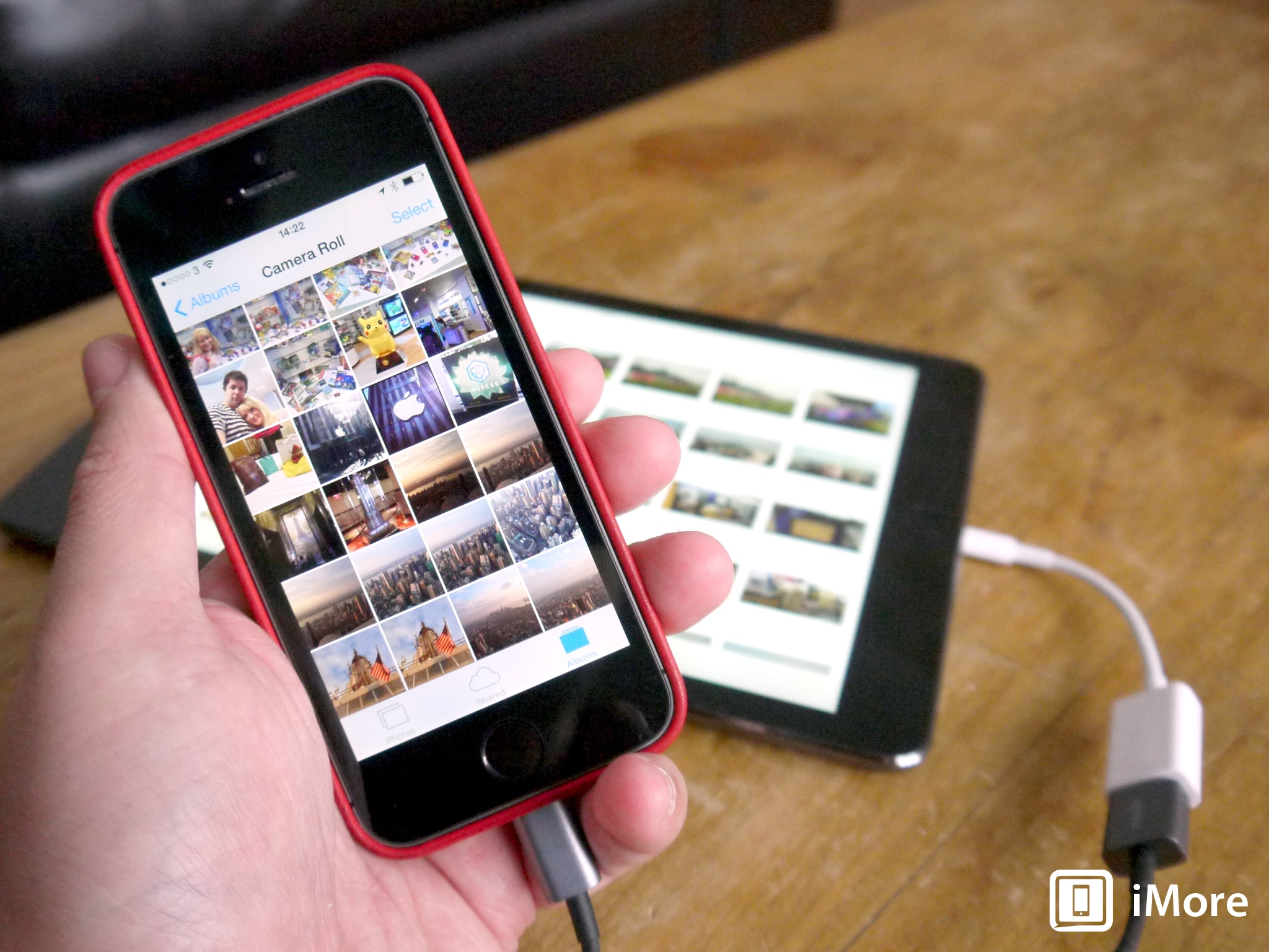 medium resolution of plug your iphone into your ipad