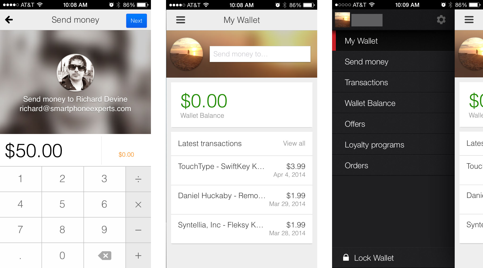 Best payment and wallet apps for iPhone: Google Wallet