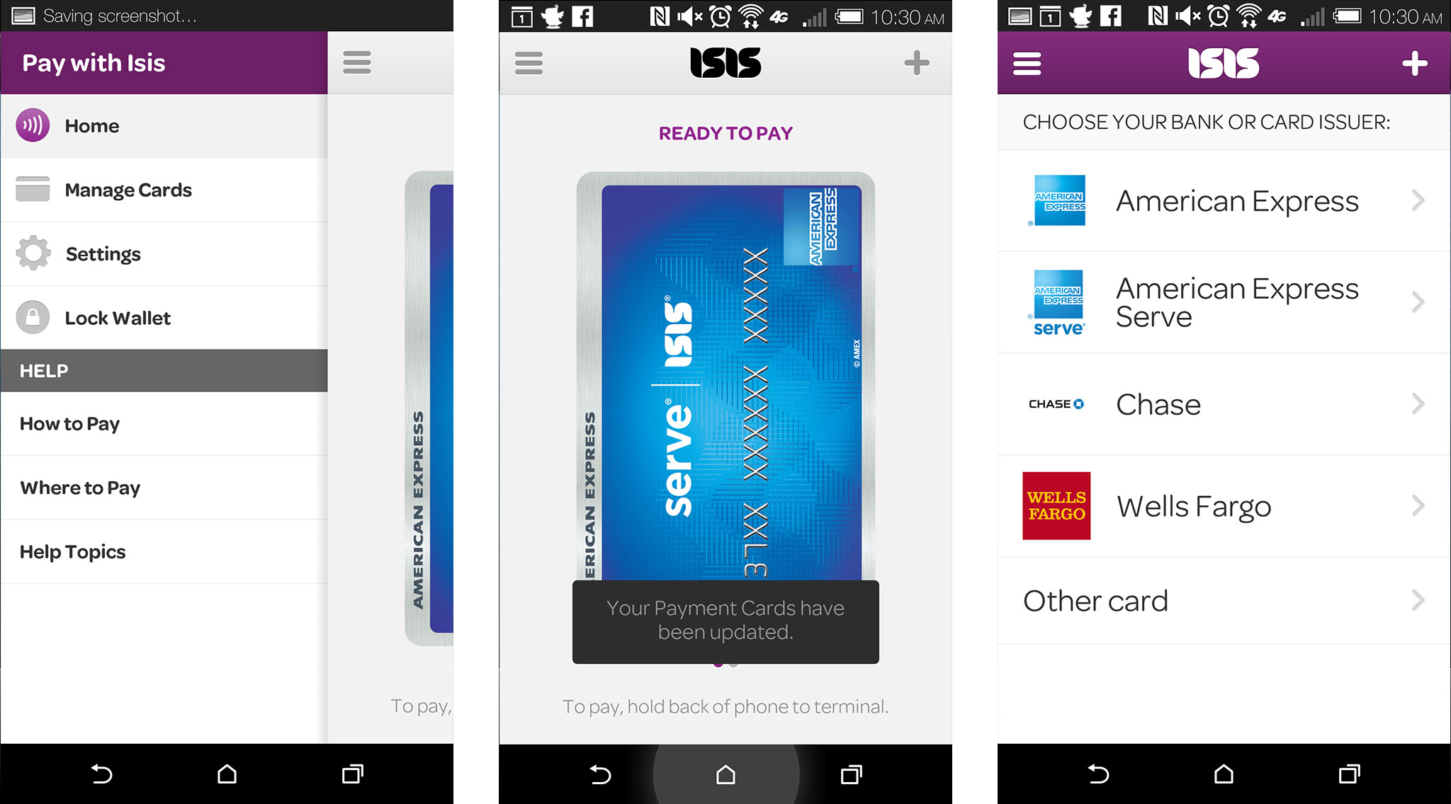 Best payment and wallet apps for iPhone: Isis Mobile Wallet