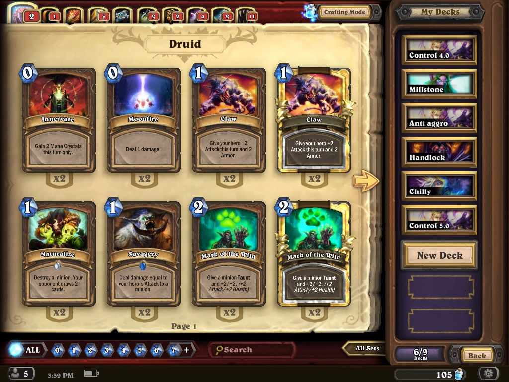 Building A Hearthstone Deck