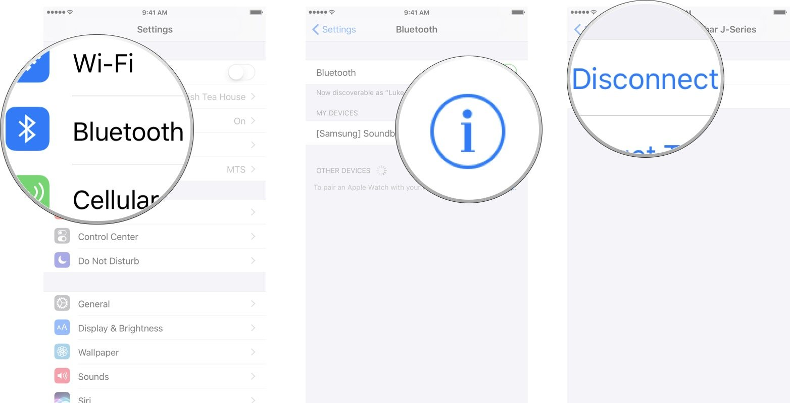 How to connect to Bluetooth devices with your iPhone or