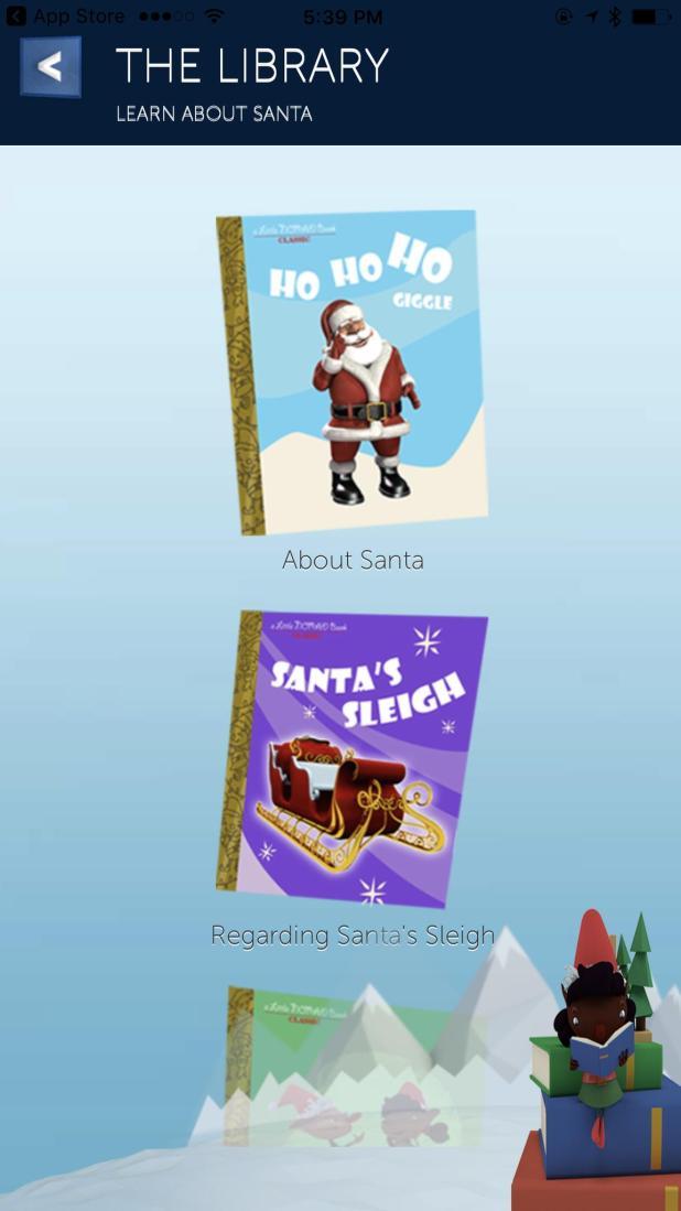 Track Santa using NORAD official app