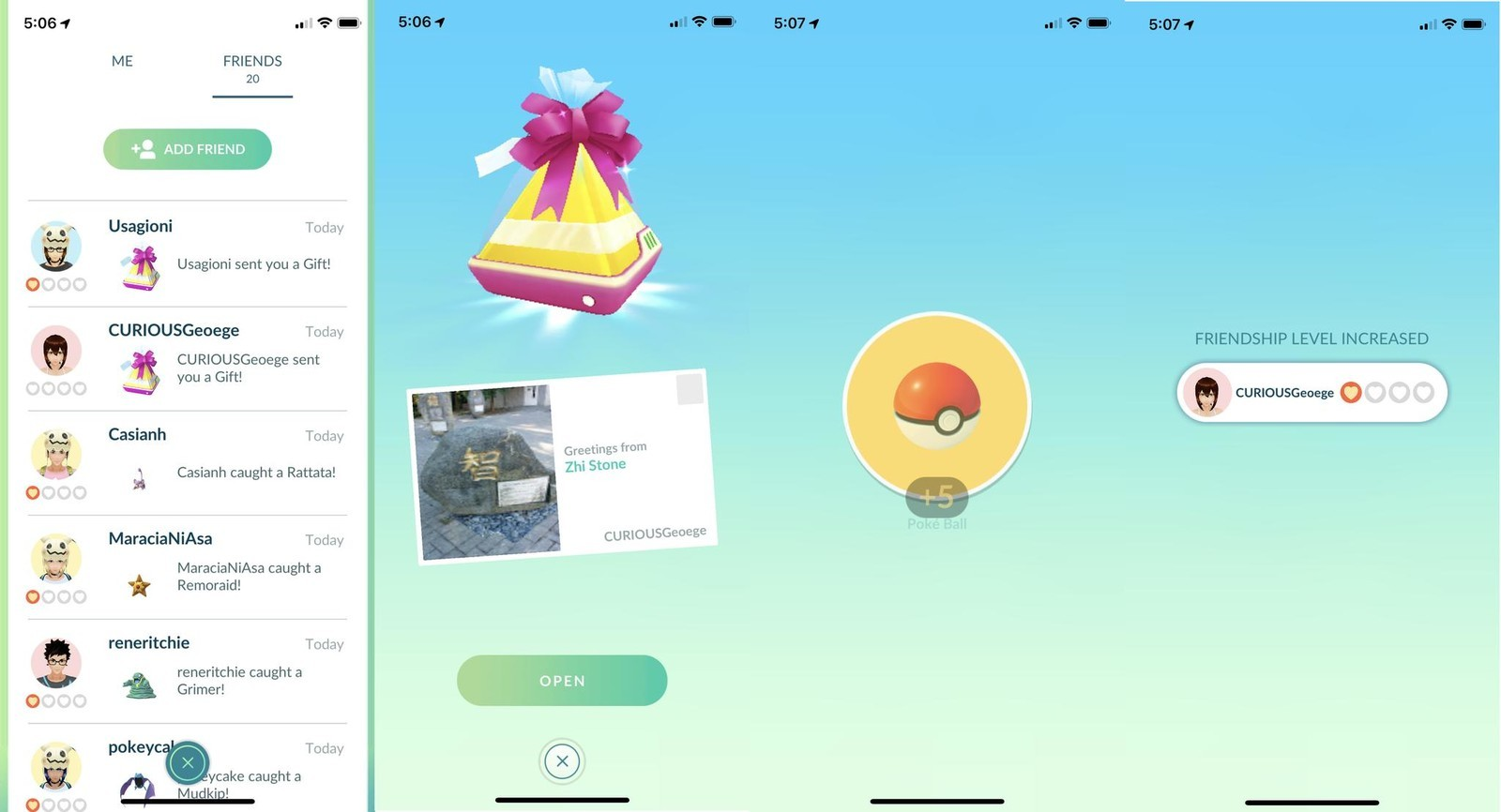 How To Send And Receive Gifts In Pokémon Go Imore