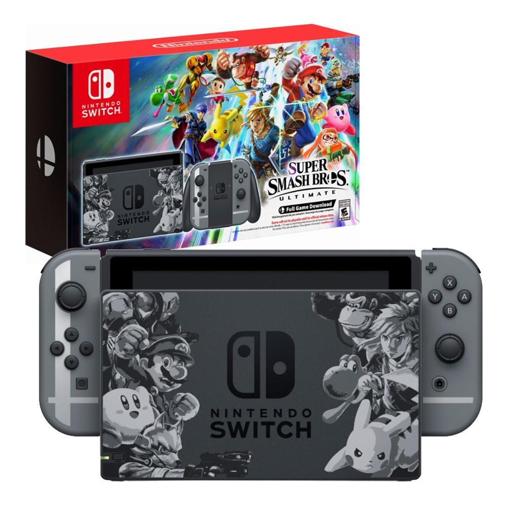 Pre Orders Are Open For The Nintendo Switch Super Smash
