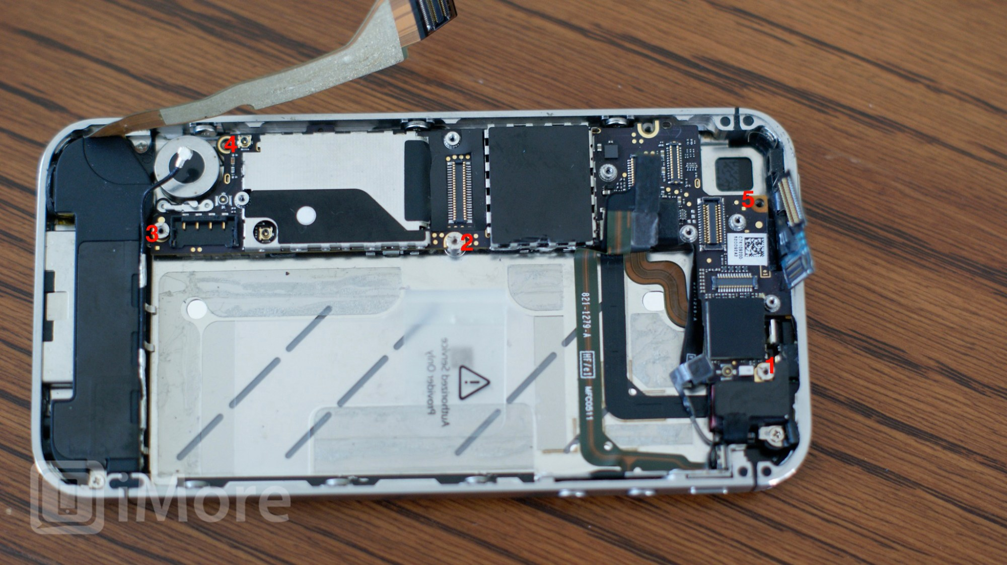hight resolution of logic board screw placement cdma iphone 4