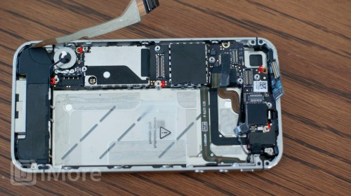 small resolution of logic board screw placement cdma iphone 4