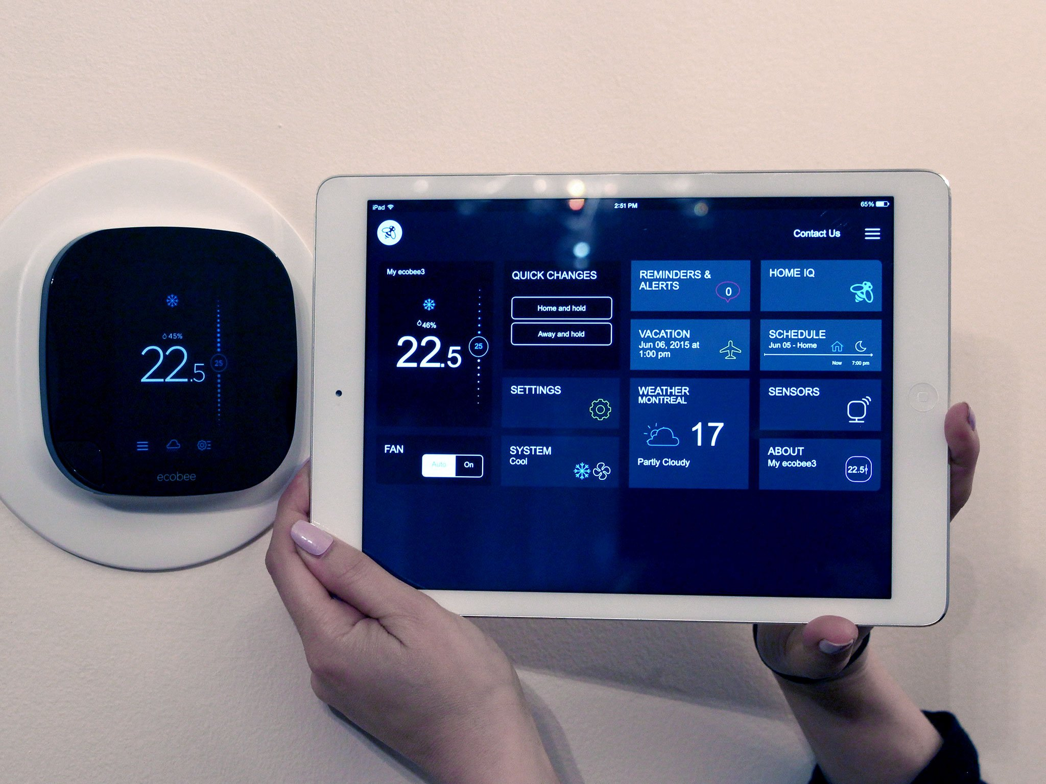 Using the Ecobee3 WiFi thermostat with your iPad  iMore
