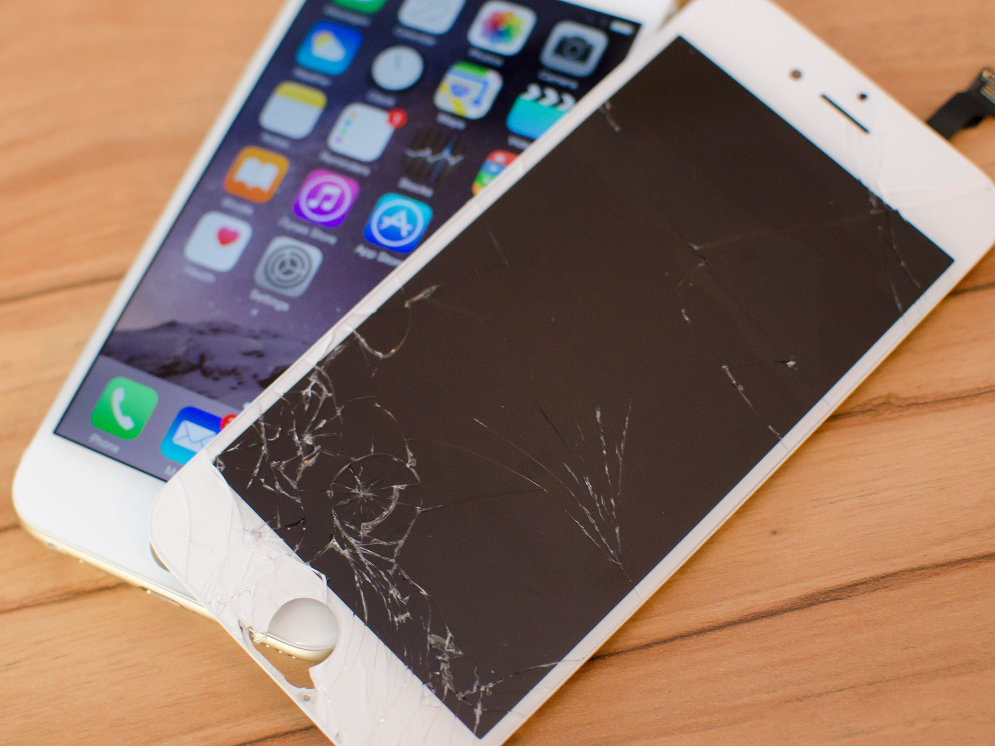 Shattered Iphone X Wallpaper How To Fix A Broken Iphone 6 Screen In 10 Minutes Imore