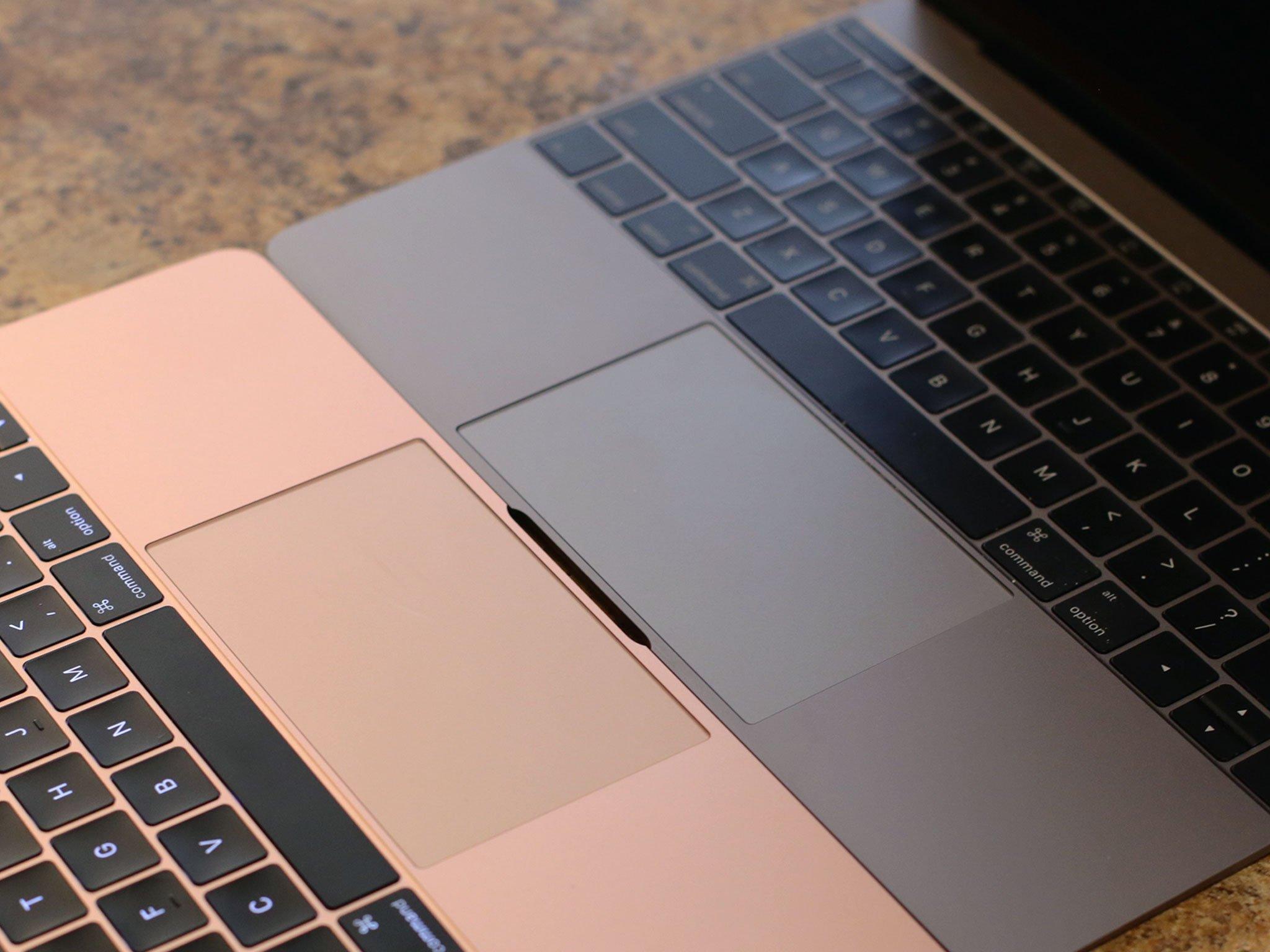 Color Macbook Silver Gold Rose