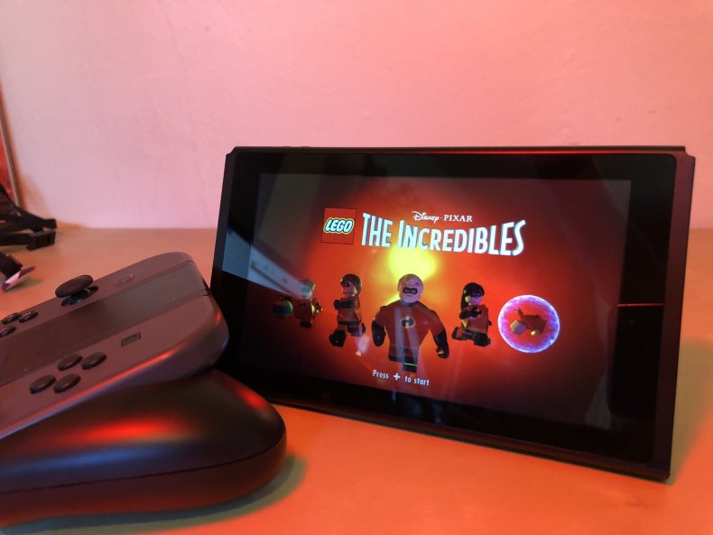 LEGO Incredibles on Nintendo Switch