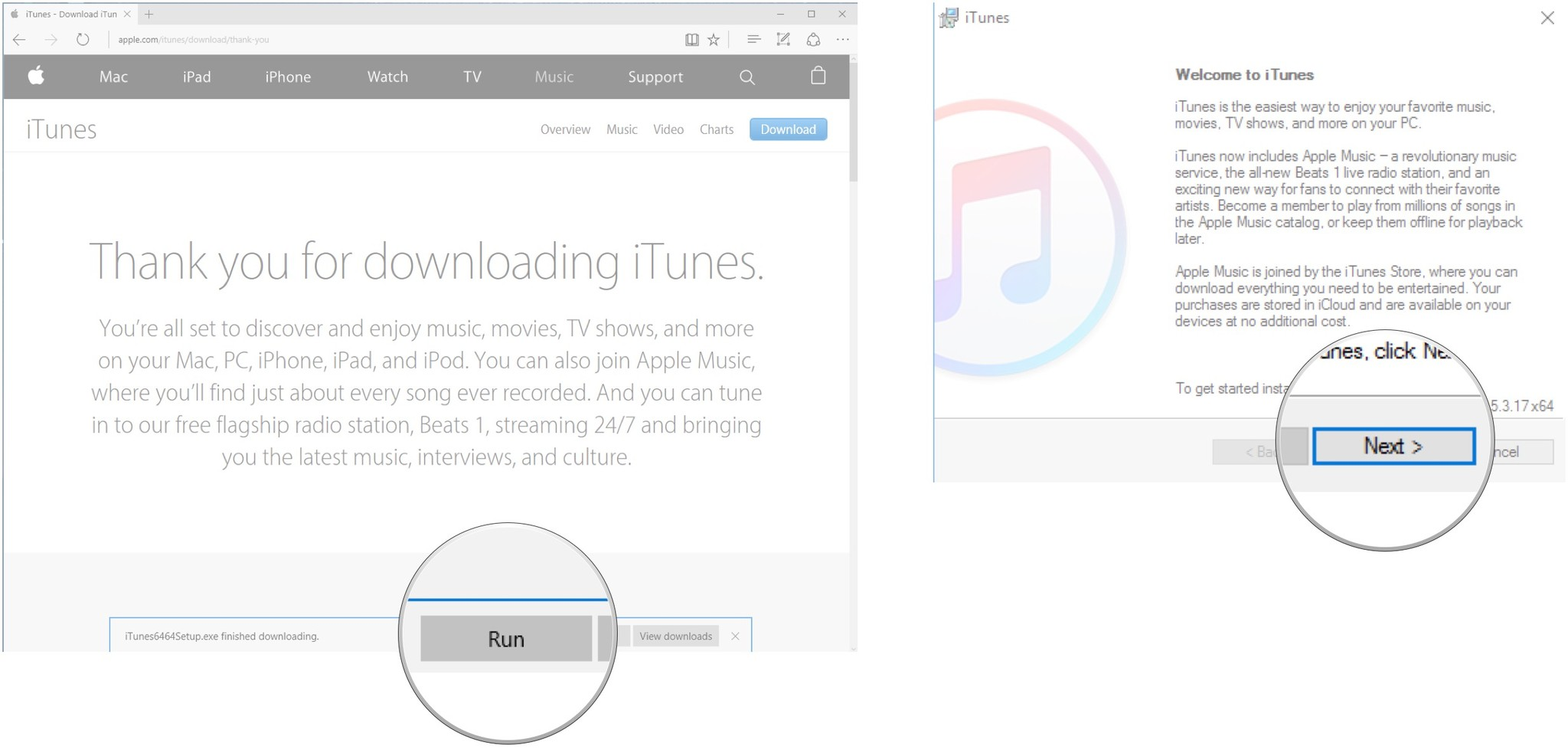 Click run next also how to download and start using itunes on windows imore rh