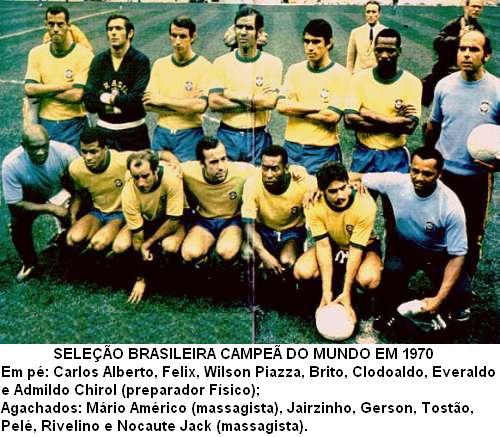 Seleções Imortais – Brasil 1970