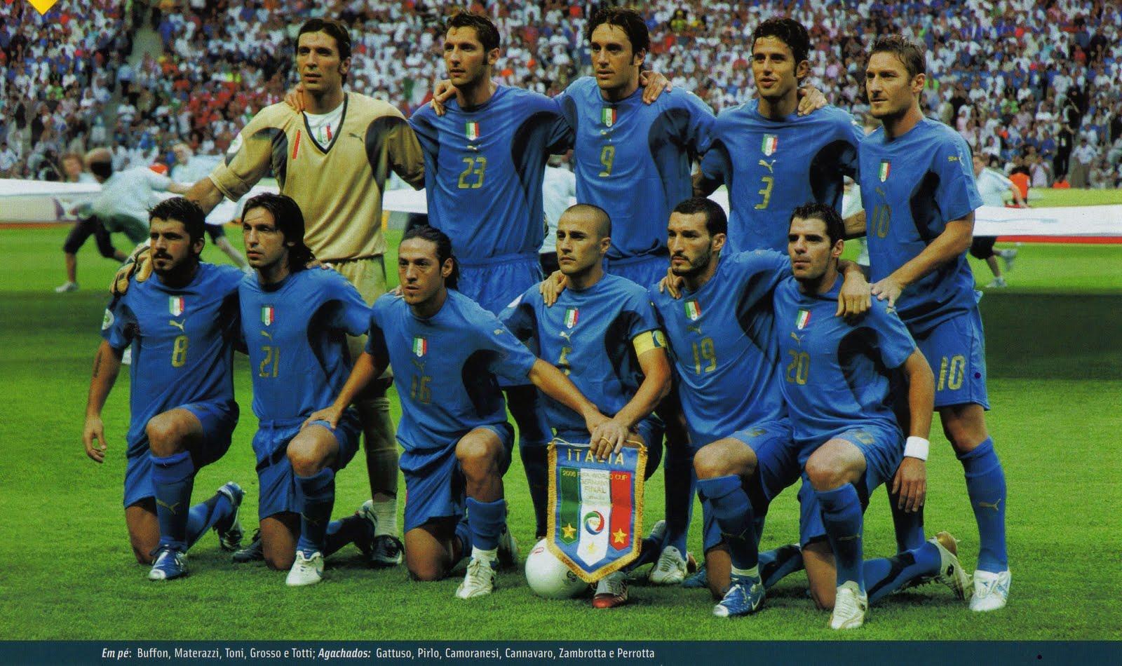 Seleções Imortais – Itália 2006 - Imortais do Futebol e544b9efdd477